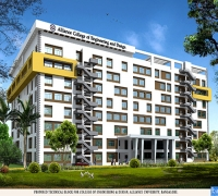 Construction of Engineering Block - Alliance Business School at Bangalore