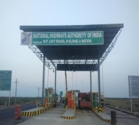 Construction of Toll Plaza  at KM 300 in Kangayam to Coimbatore Section