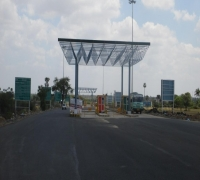 Construction of Toll Plaza in at KM 241/600 in Karur to Kangayam Section